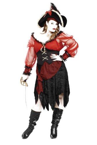 (Buccaneer Kostüm plus size Schönheit)