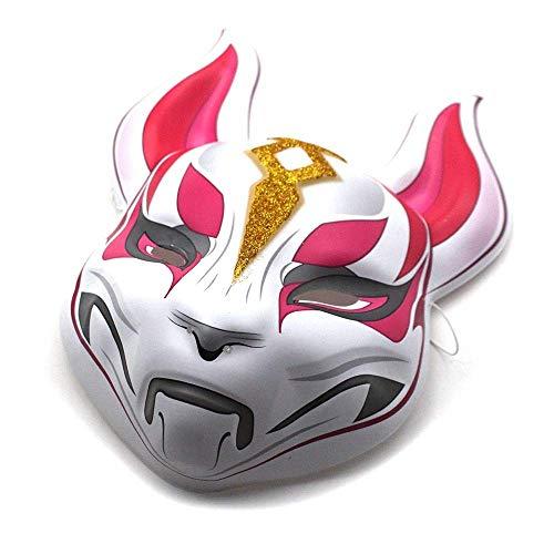 XBYUK Tierische Vollkopf Halloween Maske Adult Unisex Auto Drift Maske Fox - Auto Fox Kostüm