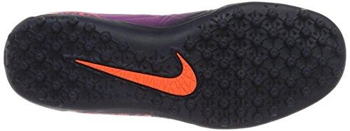 Nike 749922-845, Chaussures de Football Mixte Adulte Multicolore (Total Crimson/obsidian-vivid Purple)