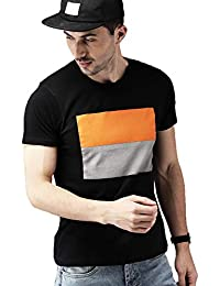 Leotude Men's Cotton Printed Tshirt