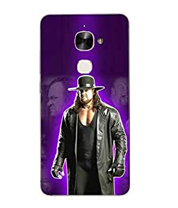 Snazzy Undertaker Printed Black Hard Back Cover For Letv Le Max 2
