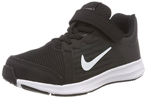 Nike Jungen Kleinkinder Sneaker Downshifter 8 (PSV) Laufschuhe, Schwarz (Black/White/Anthracite 001), 32 EU