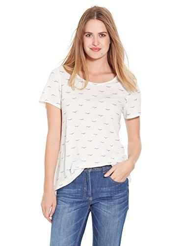 Balsamik - Tee-shirt imprimé, manches courtes - femme Imprime bleu
