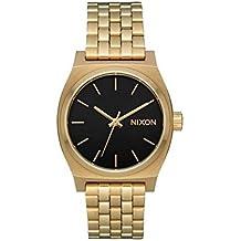 Nixon Reloj Analogico para Mujer de Cuarzo con Correa en Acero Inoxidable A1130-2810-