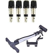 4er Set Fahrrad Ventile Fahrradventil Blitzventil (BV) Normalventil Dunlopventil