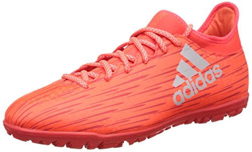 adidas Herren X 16.3 Tf Fußballschuhe Orange (solar Red/silver Metallic/hi-res Red)