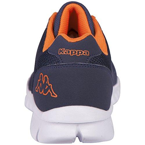 Kappa Stay, Baskets Basses Mixte Adulte Bleu (6744 Navy/orange)
