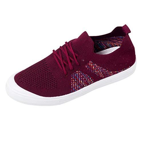 Bibao , Damen Sneaker rot rot 50 (Frauen Heels Für Oxford Low)