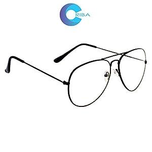 Criba Anti-Reflective Aviator Unisex Sunglasses - (CV WT 50 White Color)
