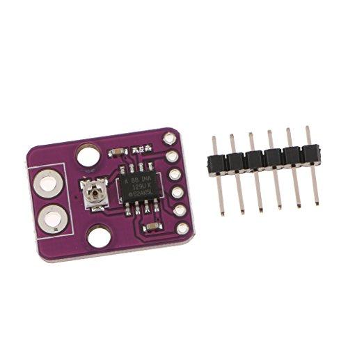 Baoblaze INA129-HT Temperatur Niedrig Power Instrumentation Verstärker Modul (Power-verstärker-10000)