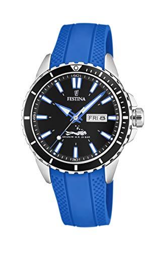 Festina Herren Analog Quarz Uhr mit PU Armband F20378/3