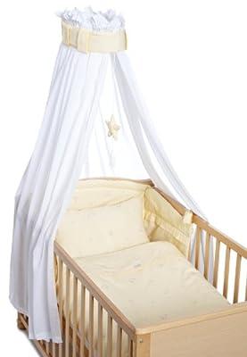 Christiane Wegner 0310 00-423 - Juego de accesorios para camas, color amarillo