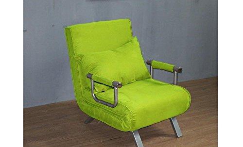 Italfrom sofa bed verde 67 x 69 x 83h divanetti divano letto 1 piazza, 62 cm
