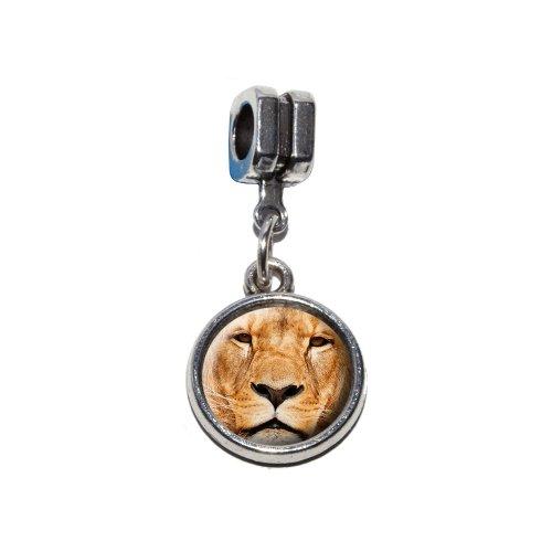 Charm-Perle im europäischen Stil eines männlichen Löwen, für Pandora, Biagi, Troll, Chamilla etc.
