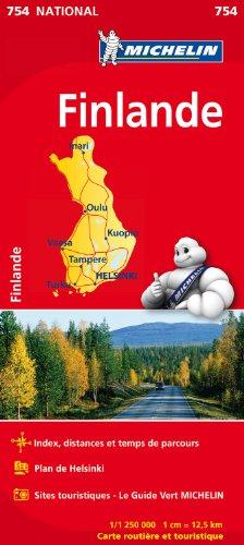 Descargar Libro Carte NATIONAL Finlande de Collectif Michelin