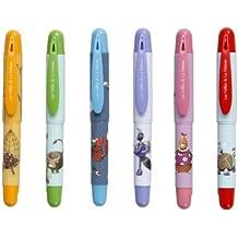 CLAIREFONTAINE - 1 Stylo Roller pour enfant illustré selon les fables de la Fontaine - Plusieurs visuels disponibles