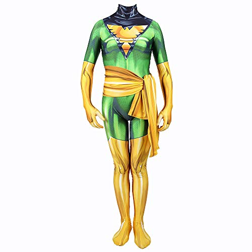 SHANGN X-Men Phoenix Girl Kids Adult Film Cosplay Kostüm | Halloween Rollenspiel Spandex Dress Up Bodysuit,Lady-XXXL (Men Girl Halloween-kostüme X)