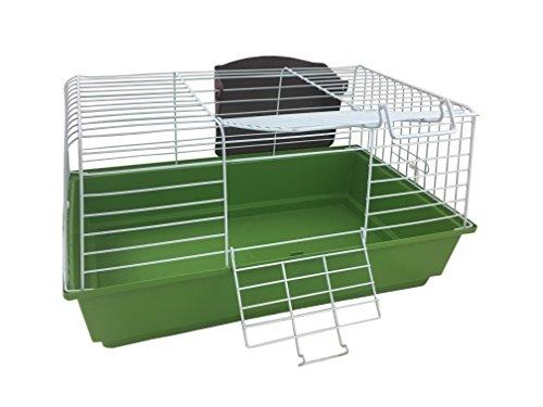 Gabbia per conigli 60 apertura superiore metallo coniglio 59x36x31cm varie colorazioni