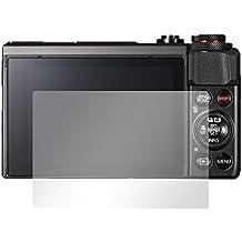 "2 x Slabo protector de pantalla Canon PowerShot G7 X Mark II lámina protectora de pantalla lámina protectora ""Ultra Transparente"" invisible MADE IN GERMANY"