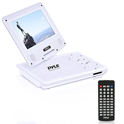 "Pyle 7"" PORTABLE DVD PLAYER WHITE PDV71WT"