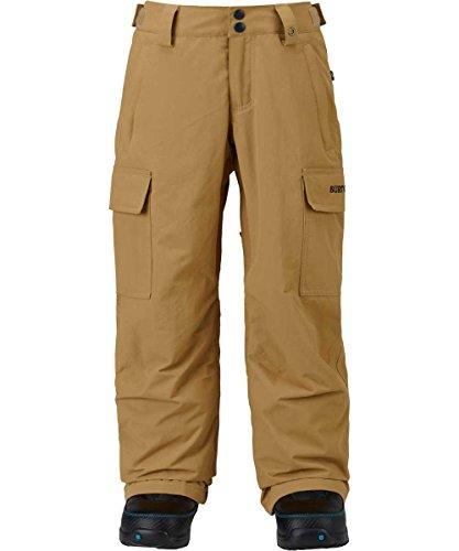 Burton exile cargo, pantaloni da snowboard bambini e ragazzi, kelp, m