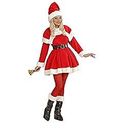 Idea Regalo - Costume Babbo Natale donna babba super lusso mamma