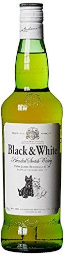 Black & White Blended Scotch Whisky - 700 ml