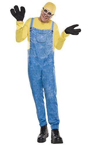 Rubie´s Offizielles Minion Bob, Erwachsene Kostüm-Standard Größe
