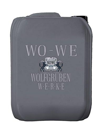 Teakholz Entgrauer Typ Wolfgruben Werke W203 Grauschleier Entferner Teak Holz Aufheller Grau Schleier Holz Hartholz Teakpflege Holzpflege Reiniger Pflege Aufhellen Auffrischung 5L