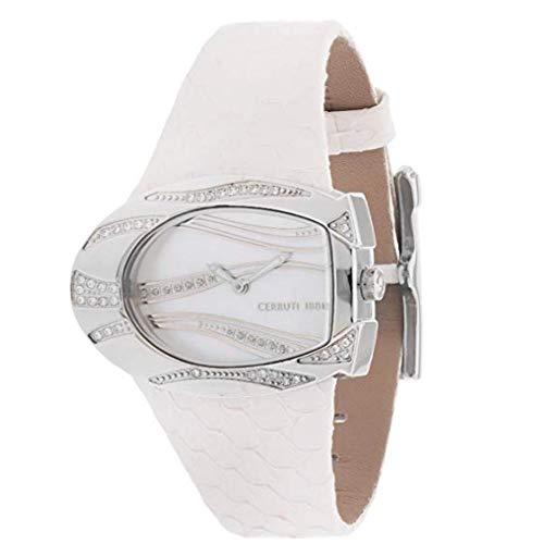 Cerruti CRP003B266A Reloj de pulsera para mujer, color blanco