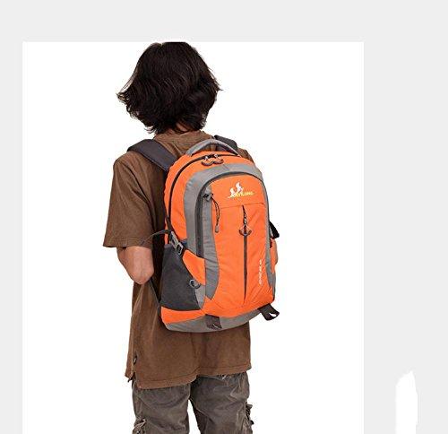 BUSL Outdoor-Rucksack 40L Bergsteigen Tasche weiblichen Studenten Gezeiten Tasche Mann Tasche a