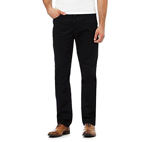 j-by-jasper-conran-mens-black-textured-waffle-trousers-34s