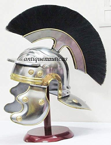 Shiv (TM Shakti Unternehmen Roman Centurion Mittelalter Helm Armor Roman Knight Officer Centurion Helm Replica mit ()
