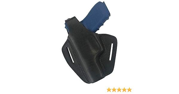 VlaMiTex B2Li Holster en Cuir /à acc/èes Rapide pour Glock 20 21 Zoraki 917 pour GAUCHER !