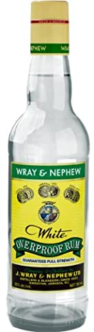 Wray & Nephew Over Proof Rum 62.8%