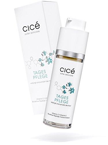 cicé Anti-Aging Tagespflege - hochwirksame Tagescreme gegen Falten, Rötungen und schlaffe Haut
