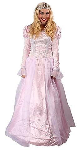 Prinzessinnen Kleid mit Halsband für Prinzessinnen Kostüm für Damen