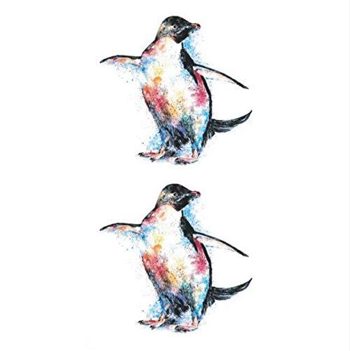 Tanz Kostüm Pinguin - ruofengcp Pinguin Temporäre Tätowierung Aufkleber Wasserdicht Teen Kind Junge Mädchen Schulter Arm Gefälschte Tätowierung 10.5X6cm