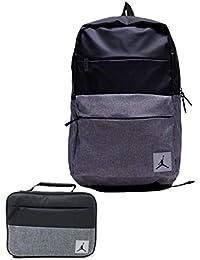 promo code 71a60 09850 Air Jordan Jumpman Rucksack und passende Isolierte Lunch-Tasche schwarz  schwarz One Size