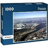 Passau - Puzzle 1000 Teile mit Bild von oben