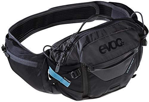 EVOC Sports GmbH HIP Pack PRO 3l + 1, 5l Bladder Hüfttasche, Black/Carbon Grey, one Size -