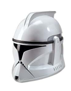 Masque Casque Deguisement Soldat Clone Trooper Star Wars Officiel Adulte Guerre Etoiles