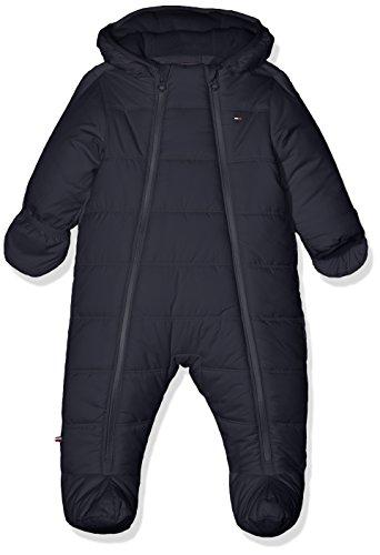 Tommy Hilfiger Baby-Jungen Schneeanzug Thknb Skisuit, Blau (Black Iris 002), 74