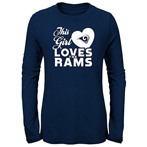 NFL von outerstuff NFL Los Angeles Rams Jugend Mädchen