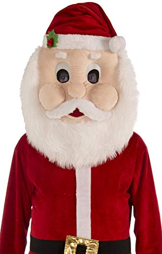 Dress Up America Costume mascotte peluche di Babbo Natale per adulti