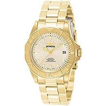 Invicta 9010 - Reloj para hombre color dorado