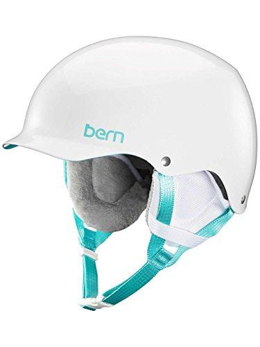 Bern Damen Helm Team Muse Winter Schnee S Gloss White White Liner