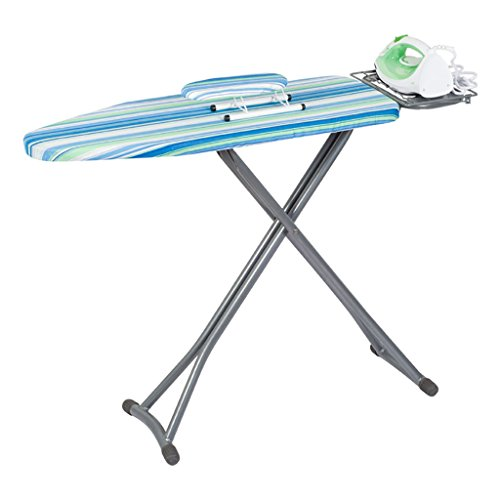 Bügelbrett-Gestell faltbar, Bügelbrett-Leichtgewichtler-Eisen-Gestell-justierbares faltbares Stand-faltendes, Tischplatten-Bügelbrett