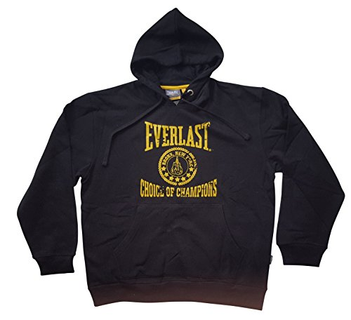 Everlast Sweatshirt Hoody Champion schwarz Unisex - Grösse L (Champion Hoody Sweatshirt)