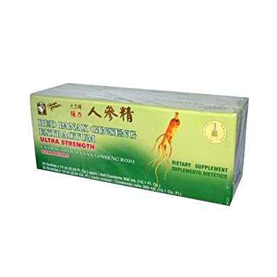 Panax Red Ginseng 30x10cc from Prince Of Peace